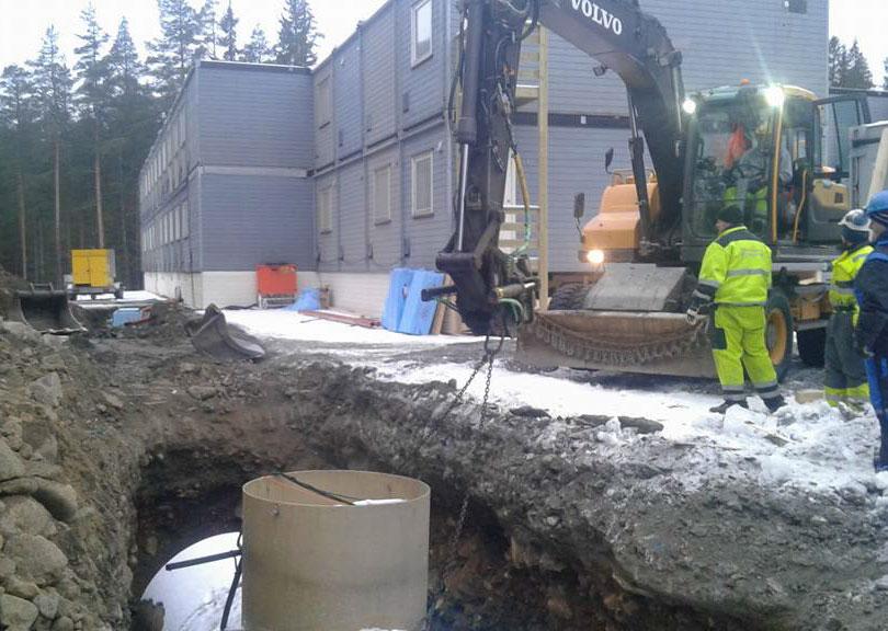 Anleggsarbeid og tomtegraving Vågå og omegn